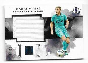 2019-20 Panini Impeccable Premier League Jersey Card : Harry Winks #12/99