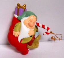 Grolier President`s Edition Snow White Sleepy Disney Ornament with box