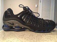 2002 Nike SHOX VC LOW VINCE CARTER BLUE BLACK GREY SILVER 303971 Size 10 Vintage