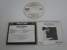EARL HINES/BLACK & BLUE(DISTRIBUTION 233073) CD ALBUM