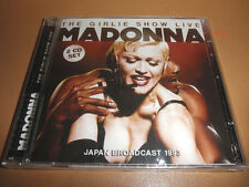 MADONNA the GIRLIE SHOW live in JAPAN hits CD vogue LIKE A VIRGIN everybody