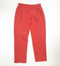 TROUVE Women's Red Ankle Cropped Trouser Pants S