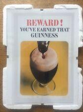 Reward GUINNESS Advertising Advert Man Cave Vintage Retro Bar Pub Mounted