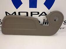 07-09 Dodge Nitro New Seat Adjuster Shield & Clips Front Driver Khaki Mopar OEM