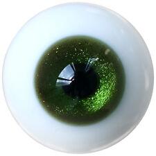 [PF] ET16# 8mm Bling Dark Green SD DZ DOD LUTS BJD Dollfie Glass Eyes Outfit