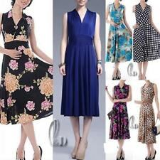 Summer Floral Petite Dresses for Women