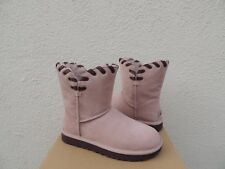 UGG AIDAH DUSK PINK CLASSIC SUEDE SHEEPSWOOL BOOTS, WOMEN US 7/ EUR 38 ~NIB
