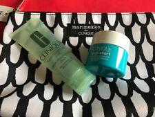 Clinique Pep Start hydroblur Moisturizer 15ml & liquid facial soap mild 50ml set