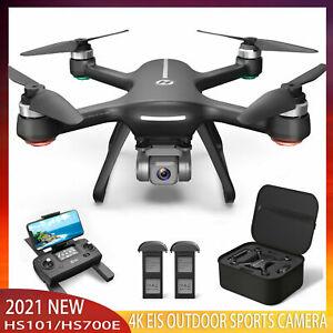 Holy Stone HS700E GPS RC Drohne mit EIS 4K Kamera HD 5G FPV Quadcopter + 2 Akkus