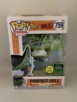 DAMEON CLARKE SIGNED PERFECT CELL 759 ECCC GITD 2020 FUNKO POP A BECKETT COA D3