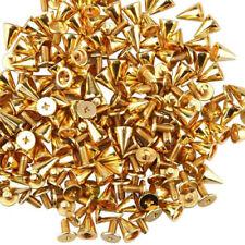 50Pcs/100pcs DIY Spots Cone Screw Metal Studs Leather Craft Rivet Pyramid Spikes
