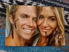 Big Brother stars Tyler and Angela signed autographed 4x6 photo!