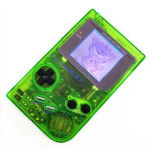 Refurbished Clear Green Nintendo Game Boy Original DMG-01 Backlight Console