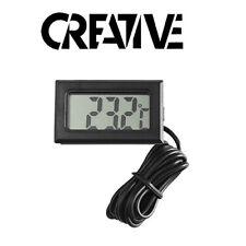 LCD Digital Fridge Thermometer And Probe - Fridge Freezer Temperature Checker