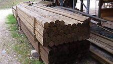 Zaunriegel d. 10 cm 3,00 m lang,Lattenzaun, Jägerzaun, Staketenzaun,Holzzaun