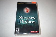 Shadow of Destiny Sony Playstation PSP Video Game New Sealed