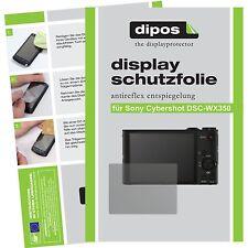 6x dipos Sony Cybershot DSC WX350 matte Displayschutzfolie Antireflex Testsieger