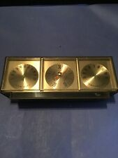 VINTAGE TAYLOR INSTRUMENT BAROMETER,humidity,temperature Weather DESK TOP Rare