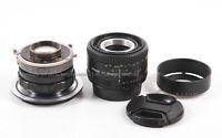 Hugo Meyer MAKRO-Plasmat 70mm f/2.7 Modified To Leica S / Nikon AF Mounts Macro