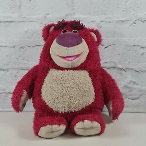 Disney Pixar Thinkway Toys Lots-O-Huggin Bear Plush Interactive Talking Toy