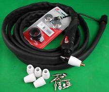 PT-31 Plasma Torch Kit Top Quality PT-31 4.0mtr Torch + Guide & Spares 19Pcs Kit