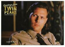 TWIN PEAKS GOLD BOX DVD POSTCARD #18 MICHAEL HORSE AS DEPUTY HAWK  POST CARD