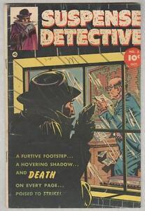 Suspense Detective #3 October 1952 G/VG