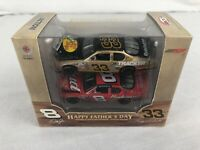2004 Action RCCA Kerry & Dale Earnhardt Jr #8 & 33 Bud Father's Day 1/64 Diecast
