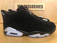 Nike Air Jordan 6 Retro VI Low Metallic Silver 304401-003 Sizes 9.5 and 6.5y
