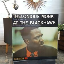 THELONIOUS MONK QUARTET PLUS 2 AT THE BLACKHAWK RIVERSIDE LP