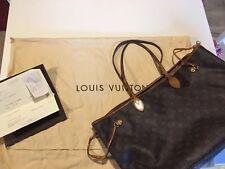 Louis Vuitton Bag Borsa Neverfull Gm Monogram Con Ricevuta