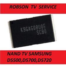 K9GAG08U0E NAND SAMSUNG UE32D5500 UE40D5500 UE46D5500--PROGRAMMED TESTED
