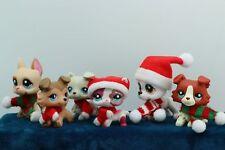 6 lot Rare Littlest Pet Shop LPS Great Dane Dogs Collie Cat Collection Authentic