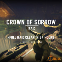 (PC/PS4) (IN 24 H!) Destiny 2 Full Crown of Sorrow Raid+Chest+Challenge/Flawless