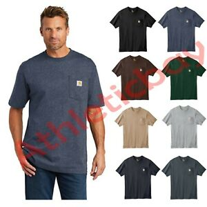 Carhartt Workwear Pocket Short Sleeve T-Shirt Work Shirt Regular and Tall Sizes