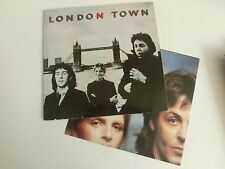Wings London Town & Poster Germany 1c 064 60521 LP Combined Shipping Option !