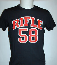 RIFLE 58 T-Shirt Uomo Blu Tg XL