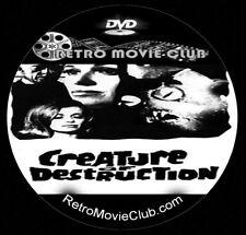 Creature of Destruction (1968) Horror, Sci-Fi Movie Dvd