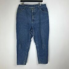 Vintage Lee Jeans - Relaxed Tapered Dark Wash - Tag Size: 20W P (35x26.5) #5700