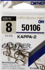 Owner Haken KAPPA-2 50106 versch. Großen Angelhaken Hacken