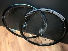 NEW AMERICAN CLASSIC AERO 420 DISC WHEEL SET