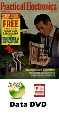 HUGE Practical Electronics 345 Issues on Data DVD in PDF File Format