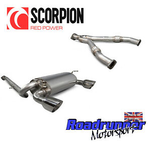 """Scorpion Fits 350Z Cat Back Exhaust System Stainless & Y Pipe Section Daytona 4"""""""