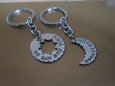 Game of thrones Couples keyrings sun moon & stars