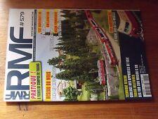 $$$ Revue RMF N°579 Alpes SuissesCablageRame RAEWagons ModalohrQuais