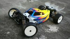 TEKNO EB410 / EB401.2 - LFR A2 TACTIC BODY WITH 2 WINGS (CLEAR)