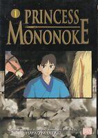 Princess Mononoke 1, Shojo Manga, English, 13+, Hayao Miyazaki