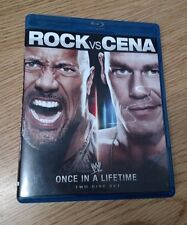 ** WWE: Once in a Lifetime - The Rock vs. John Cena (Blu-ray Disc, 2012)