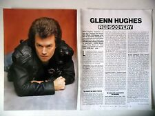 COUPURE DE PRESSE-CLIPPING :  GLENN HUGHES [2pages] 09/1993 Interview,Blues