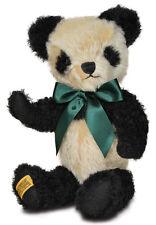 """Merrythought Antiguo Panda Oso De Peluche De Clásico Mohair - 35cm/14"""" - AP14BC"""